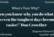 Personal Trainer Visalia daily motivation