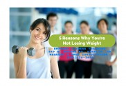 Personal Trainer Visalia Explains The 5 Reasons Your Not Losing Weight