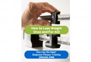 Visalia Personal Trainer Will Show You How to Lose Weight Once and For All!