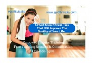 Personal Trainer Visalia Fitness Tips